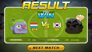Luxembourg beat South Korea