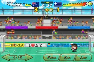 Australia VS Greece 7