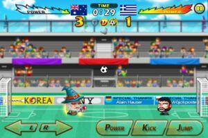 Australia VS Greece 6