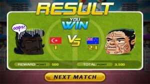 Turkey Lose against New Zealand