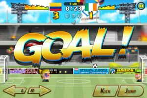 Colombia VS Ireland 2