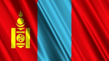 Stock-footage-mongolia-flag-loop