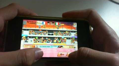 Head Soccer On Iphone, Winning Tournament with France.