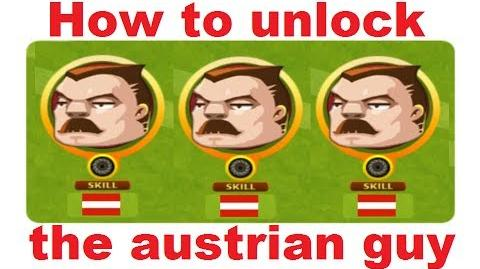 How to unlock the austrian guy in Headsoccer TUTORIAL