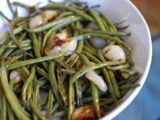 Green Beans and Cipollini Onions