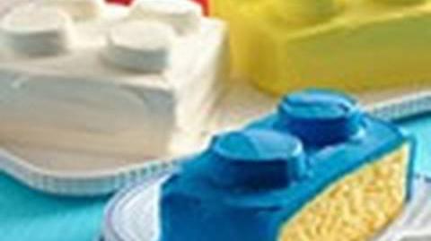 How to make a building blocks cake - Block birthday cake