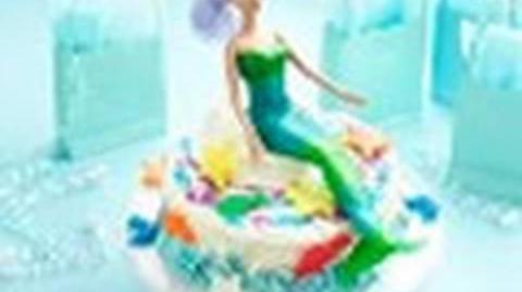 How to make a mermaid cake - Easy mermaid birthday cake