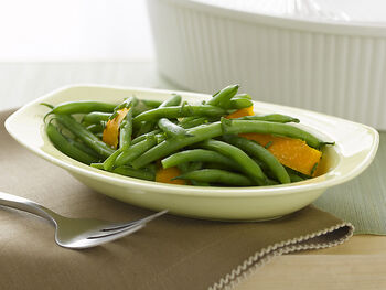 Orange Green Bean Salad