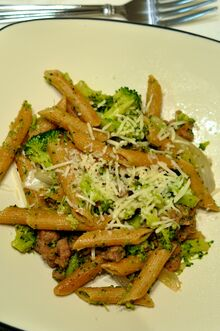 Penne Broccoli and Sausage