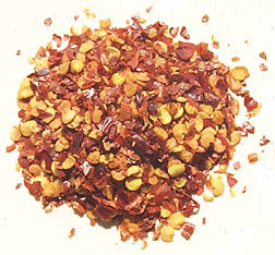 Pepper flakes