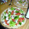 Homade Veggie Pizza