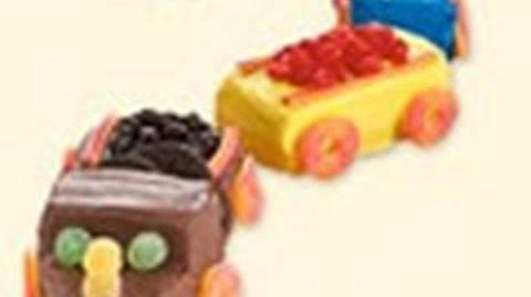 Train birthday cake decorating ideas - How to make a cake