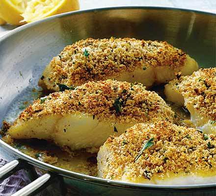 Herb crusted john dory healthy recipes wiki fandom for John dory recipe