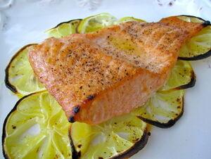 Lemony Scented Salmon