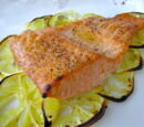 The Fit Cook's Lemony Scented Salmon