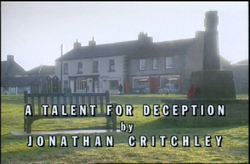 A Talent For Deception title card