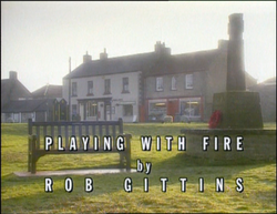 Playing With Fire title card
