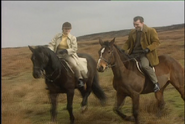 Nicka and Jo out riding in Frail Mortality