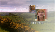 Tricia Penrose as Gina Ward in the 2002 Opening Titles