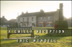 A Chilly Reception title card