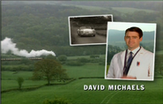 David Michaels as Dr Neil Bolton in the 1998 Opening Titles