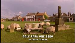 Golf Papa One Zero title card