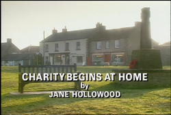 Charity Begins at Home title card