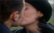 Jackie and Mike kiss in Testament