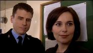 PC Mike Bradley and Jackie Lambert