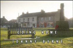 Going Home title card