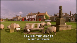 Laying the Ghost title card