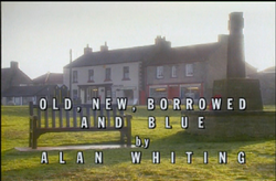 Old. New, Borrowed and Blue title card