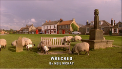 Wrecked title card