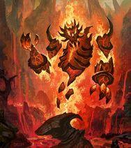 Enragé du magma (art)