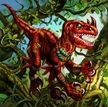 Raptor Rougefange (art)