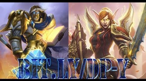 HEARTHSTONE Ranked Uther the Lightbringer VS Lady Liadrin ( Paladin VS Paladin ) Philo1337