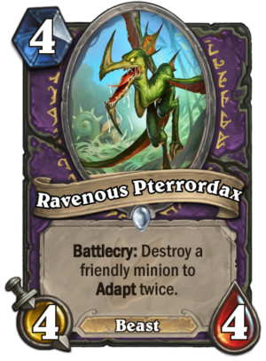Ravenous Pterrordax