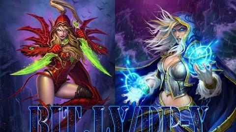 HEARTHSTONE Tavern Brawl Valeera Sanguinar VS Jaina Proudmoore ( Rogue VS Mage )EuKarass