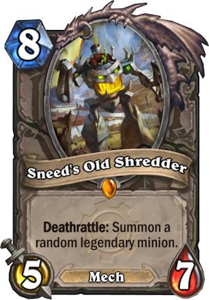 SNEED'S OLD SHREDDER