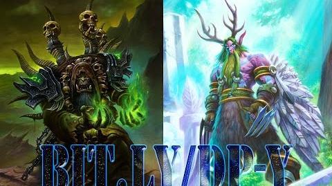 Hearthstone Arena Gul'Dan VS Malfurion Stormrage ( Warlock VS Druid ) ClockHeart