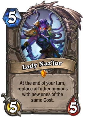 Lady Naz'jar - normal card