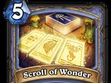 Scroll of Wonder