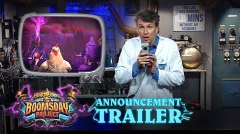 Hearthstone Announcing The Boomsday Project
