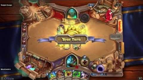Hearthstone The League of Explorers Adventure Full Match