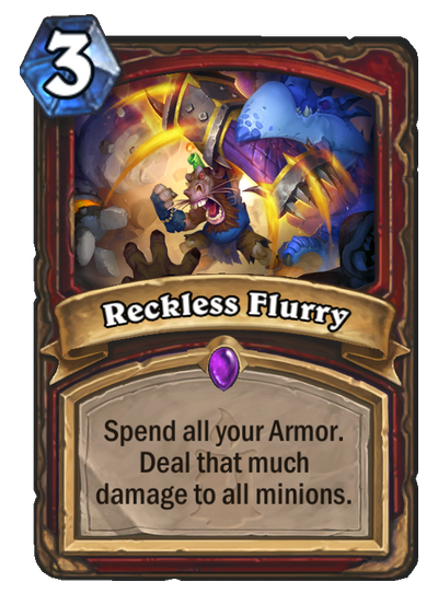Reckless Flurry Hearthstone Heroes Of Warcraft Wiki