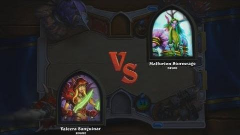Hearthstone Heroes of Warcraft - Rogue vs. Druid