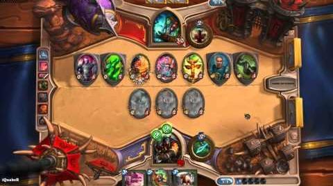 Hearthstone Heroes of Warcraft - Caçador combo furtividade