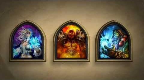 Hearthstone Golden Heroes