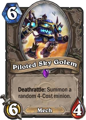 PILOTED SKY GOLEM