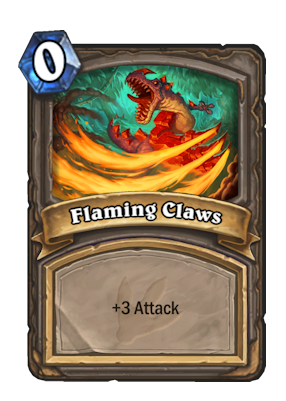 Flaming Claws